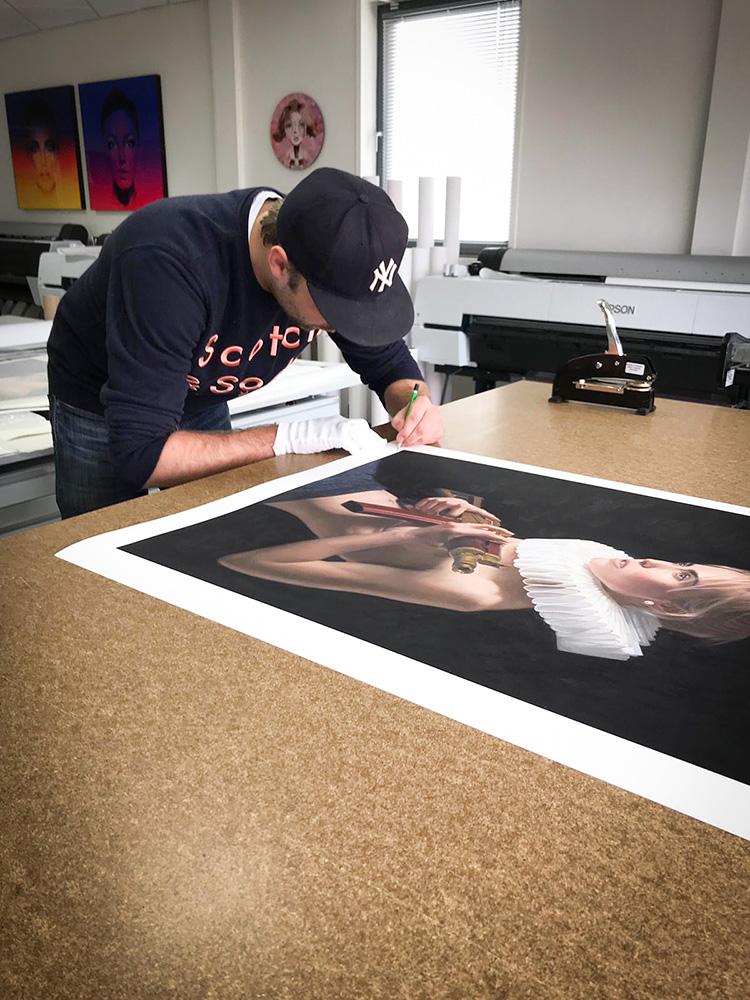 Frank E Hollywood the artist