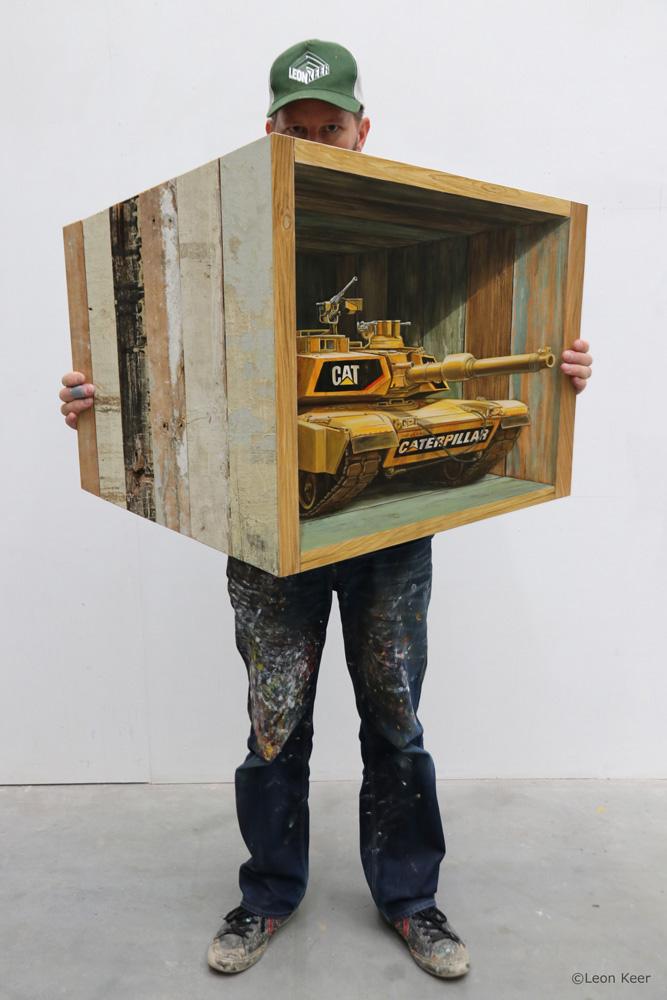 Leon Keer street artist