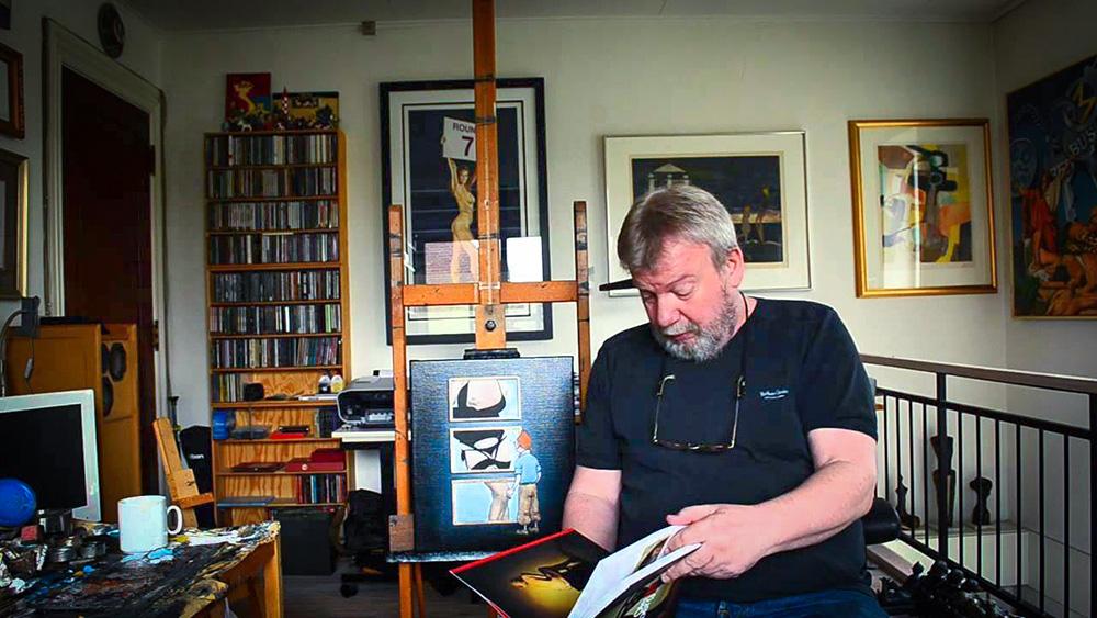 Ole Ahlberg the artist