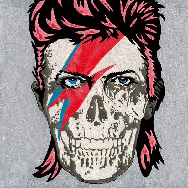 An Artwork of Raymond Stuwe called Bowie Skull