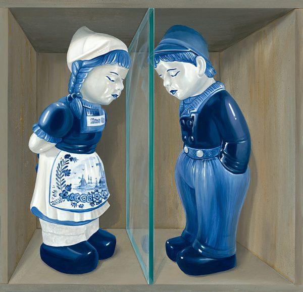 Leon Keer art print, Jan en Grietj