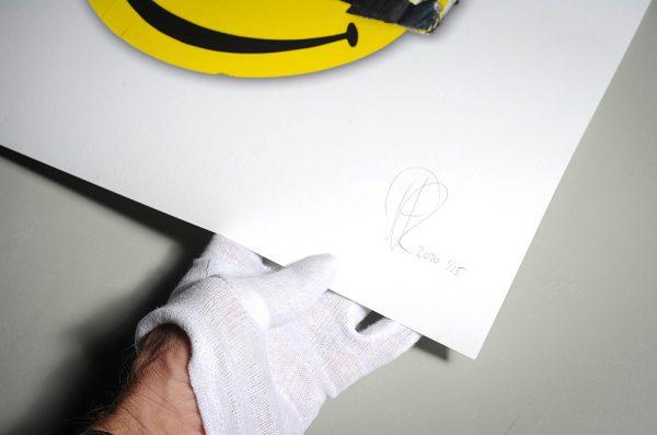 Bad Smile III with signature