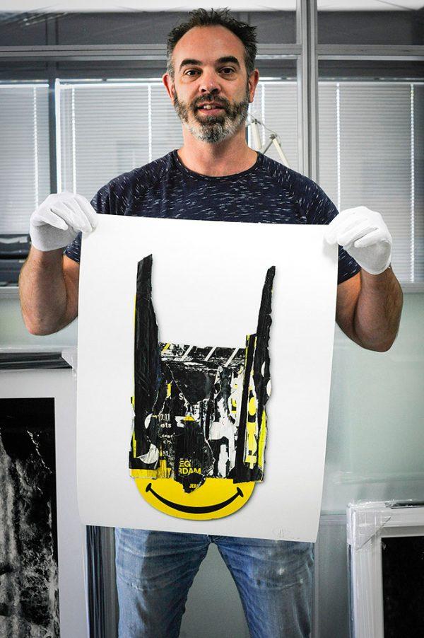Perishable Rush standing with Bad Smile III print
